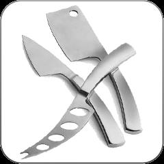 Céges feliratos evőeszköz, kés ajándékok